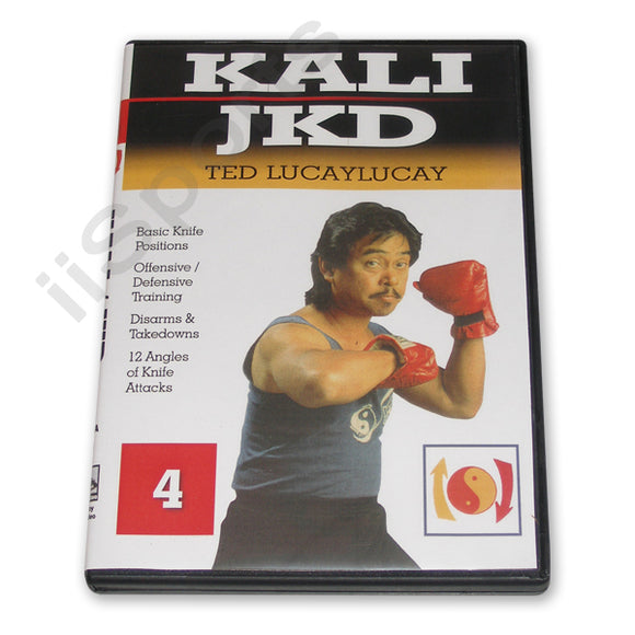 Lucaylucay Filipino Martial Arts Escrima Arnis Kali JKD Knife Fighting DVD Vol 4