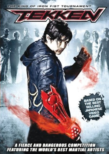 Tekken of King Iron Fist Tournament - Japanese Martial Arts action movie DVD