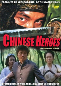 Chinese Heroes Ninja Clan Revenge - Hong Kong Kung Fu Action movie DVD subtitled