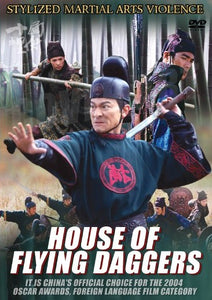 House of Flying Daggers - Stylized Hong Kong Kung Fu Martial Arts Action DVD