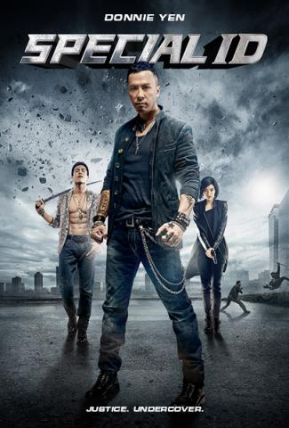 Special ID Donnie Yen - Hong Kong Triad Gangster Action Blue-Ray DVD dubbed