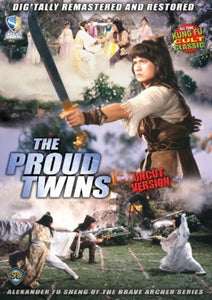 The Proud Twins - Shaw Bros Kung Fu Martial Arts Action movie DVD subtitled