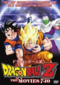 Dragon Ball Z The Movies 7-10 - Martial Arts Action Japanese Animation DVD