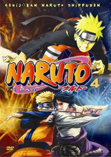 Naruto The Movie 4 - Japanese Manga Animation Action DVD subtitled
