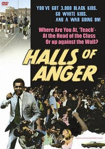 Halls of Anger - Blaxploitation Teen Racial Conflict Action movie DVD