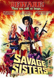 Savage Sisters -  Blaxploitation Corruption Revolutionaries Action movie DVD