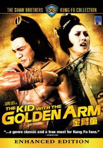Kid With The Golden Arm Remake - Hong Kong Kung Fu Martial Arts Action movie DVD