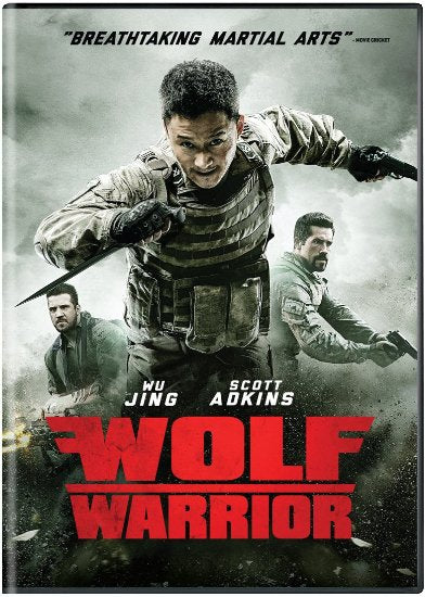 Wolf Warrior - Hong Kong Kung Fu Martial Arts Mercenaries movie DVD subtitled