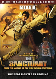 The Sanctuary DVD - Thai Martial Arts Action Mystery movie Mike B, Russell Wong
