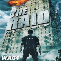 The Raid DVD Indonesian martial arts police action movie  Iko Uwais serbuan haut