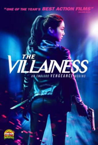 The Villainess DVD Korean revenge KIM Ok-Bin, SHIN Ha-Kyun, BANG Sung-Jun Korean