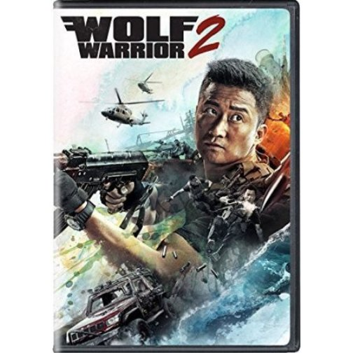 Wolf Warrior 2 action adventure DVD Wu Jing, Frank Grillo, Celina Jade, Wu Gang