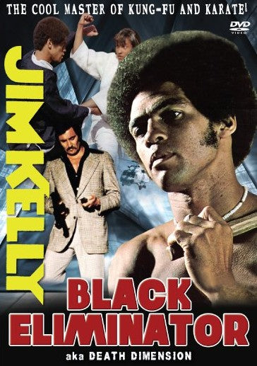 Black Eliminator Death Dimension DVD Jim Kelly Harold Sakata George Lazenby