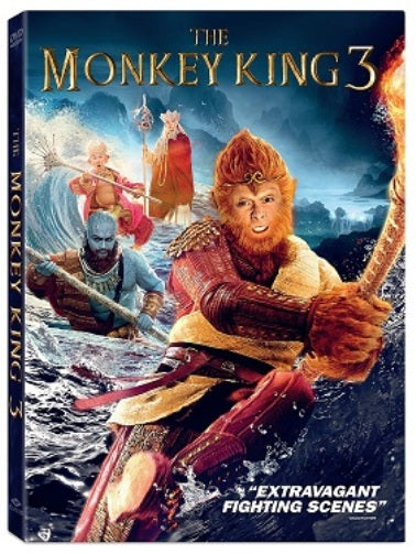 The Monkey King 3 DVD martial arts fantasy action Aaron Kwok, William Feng