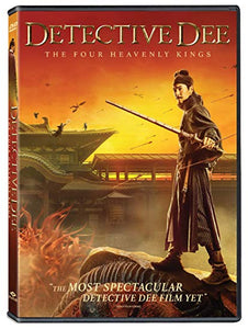 Tsui Hark's Detective Dee the Four Heavenly Kings DVD Mark Chao, Feng Shaofeng