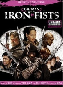 Quentin Tarantino's Man with the Iron Fists (2012) Unrated Extended Edition DVD