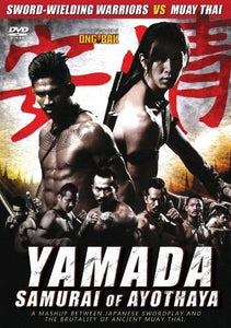 Nopporn Watin's Yamada: The Samurai of Ayothaya DVD muay thai English subtitled