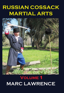Russian Cossack Martial Arts #1 DVD Marc Lawrence