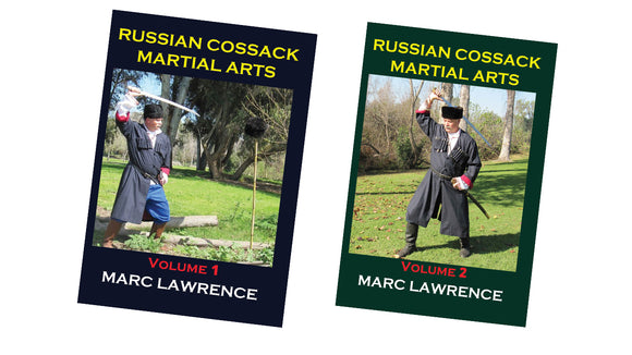 2 DVD SET Russian Cossack Martial Arts horseback fighting, lance - Marc Lawrence