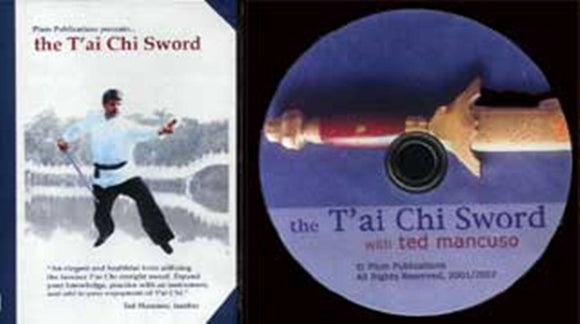 Chinese Gung Fu Yang Style Tai Chi Sword Blade DVD Ted Mancuso form fencing