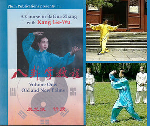 2 DVD Set Courses in Bagua #1 & #2 Old New Palms DVD Prof Kang Ge Wu