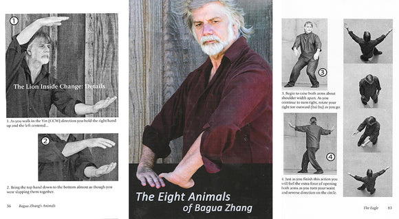 DVD/BOOK SET  Eight Animals Bagua Zhang Ted Mancuso Tai Chi Kung Fu Qigong