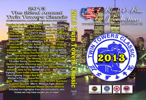 2013 Twin Towers Classic International Martial Arts Karate Tournament DVD
