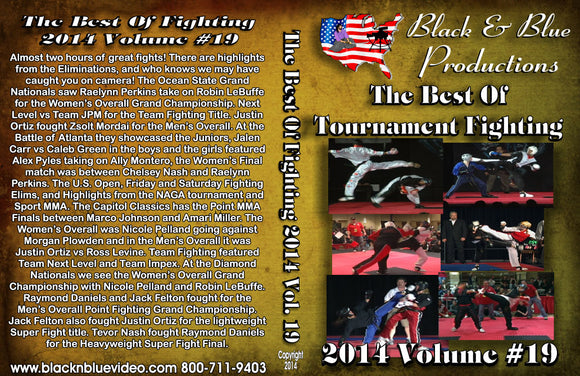 2014 Volume 19 Best of Karate Martial Arts Open Tournament Fighting DVD sparring