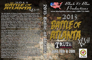 2015 Battle of Atlanta Karate Martial Arts Open Tournament DVD sparring fights