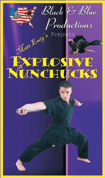 Tournament Karate Explosive Nunchucks demos forms & combos DVD Matt Emig