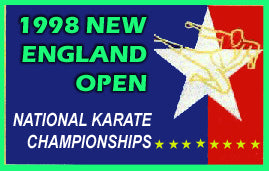 1998 New England Open Karate Martial Arts Tournament NASKA sparring forms demos