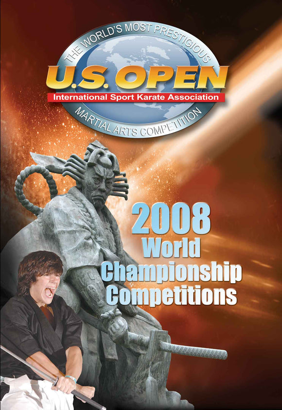 2008 US Open World Championships Karate Martial Arts Tournament DVD sparring