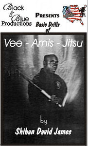 David James Vee Arnis Jitsu DVD #2 Punching Choking Armlocking escrima kali fma