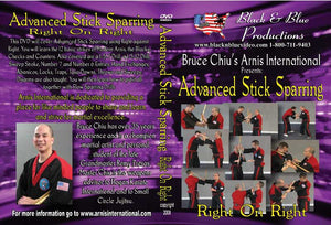 Bruce Chiu Arnis Advanced Stick Sparring Right on Right DVD escrima kali fma