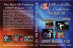 2007 Best Tournament Karate Fighting Sparring Kumite #12 DVD