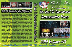 2010 Best Tournament Karate Demonstration & Sync Forms Teams #15 DVD
