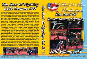 2010 Best Tournament Karate Fighting Sparring Kumite #15 DVD