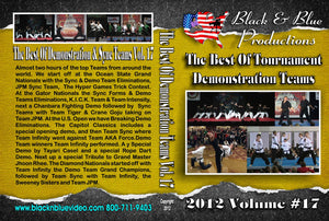 2012 Best Tournament Karate Demo Teams & Forms #17 DVD