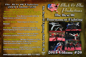 2015 Best Tournament Karate Fighting Sparring #20 DVD