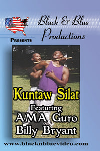 Billy Bryant Kuntaw Silat Filipino Malayasian Indonesian Martial Arts How To DVD