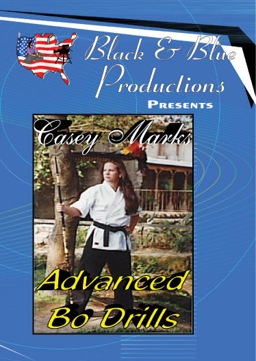 Tournament Karate Advanced Karate Bo Staff Drills for Speed Power Control Timing DVD Casey Marks
