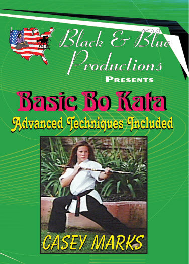Tournament Karate Bo Staff Advanced Kata Forms & Techniques DVD Casey Marks