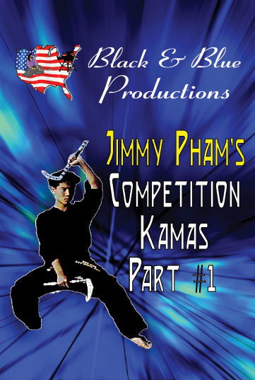 Tournament Karate Competition Kamas #1 DVD Jimmy Pham