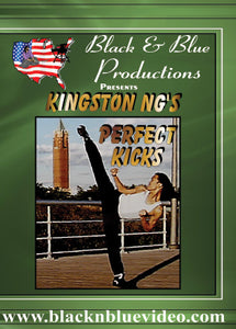 Tournament Karate Perfecting Kicks for Competition DVD Kingston Ng