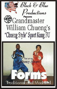 Tournament Karate William Cheung Style Wing Chun Forms DVD Anthony Arnett