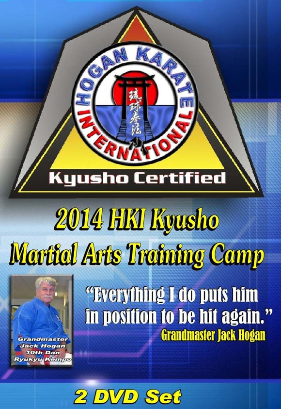 2 DVD Set Kyusho Jitsu Pressure Points Martial Arts Training Seminar - 7 masters