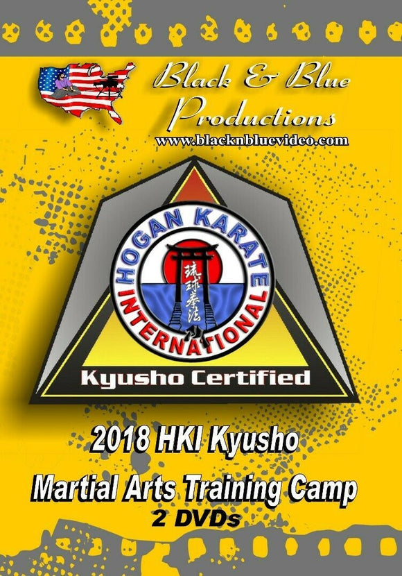 2 DVD Set 2018 Kyusho Jitsu Pressure Points Martial Arts Seminar - 8 masters