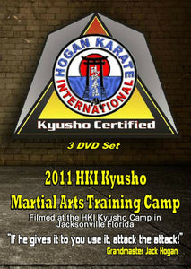 3 DVD Set Kyusho Jitsu Martial Art Seminar - How to Control Opponent - 9 masters