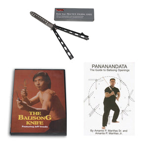 Balisong Butterfly Knife Training Set Knife + DVD + Instructional Manual