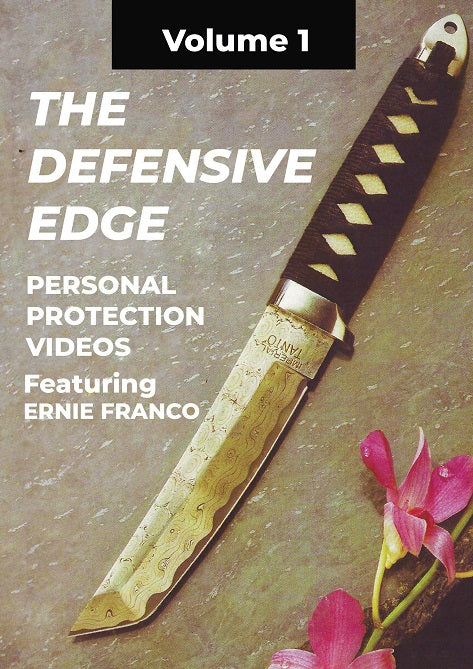Ernie Franco Filipino Martial Arts Defensive Edge Knife Fighting Tactics DVD #1